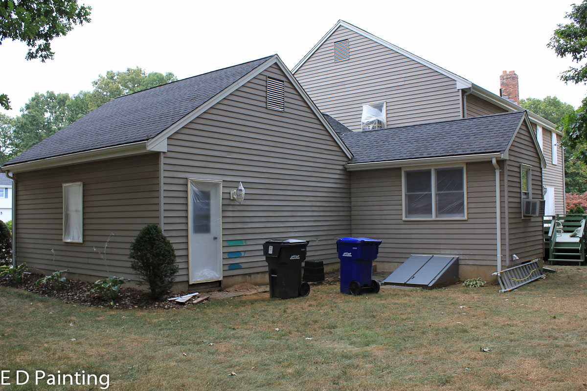 Aluminum Siding Painting New Aluminum Siding