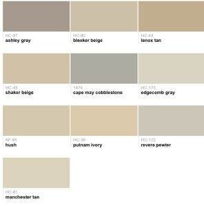 Sherwin williams killian beige