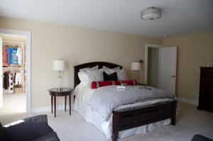 Master bedroom Avon, CT